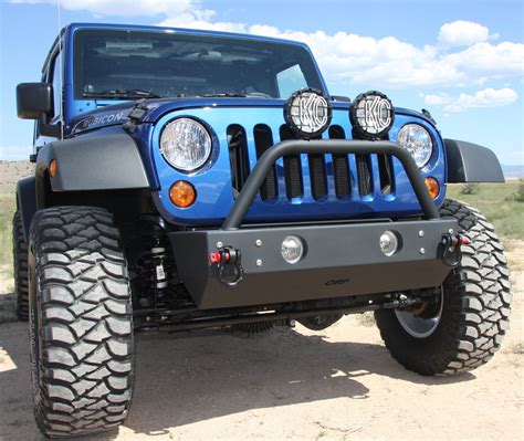 jeep fog lights or fab front stubby hd bumper with factory fog light