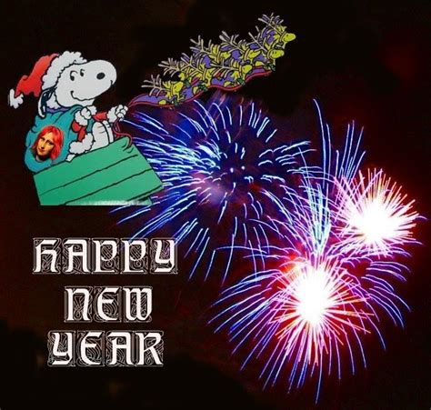 Snoopy New Year Wallpaper, Snoopy New