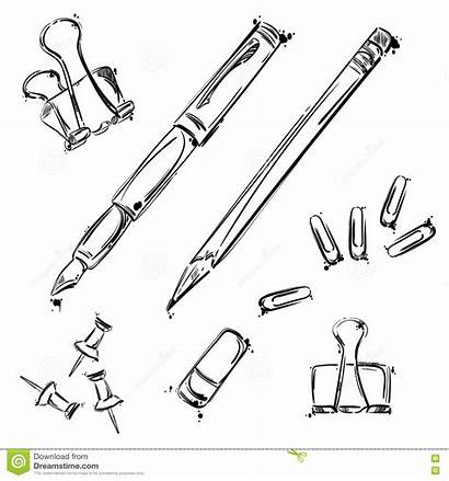 Vector Tools Isolate Background Office Pen Working