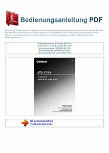 Download Free Pdf For Yamaha Rx