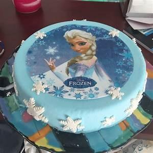 Gateau Anniversaire Reine Des Neiges : g teau d 39 anniversaire la reine des neiges mycake ~ Melissatoandfro.com Idées de Décoration