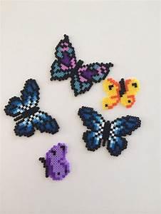 butterflies perler perler designs