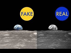 Earth's real photo from the moon-Real or fake? - YouTube