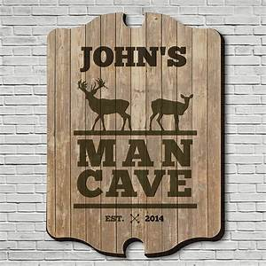 Stags, Only, Custom, Man, Cave, Sign