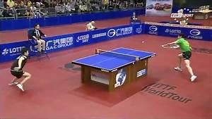 tischtennis german open 2014 finale mizutani vs ovtcharov With tisch tennis