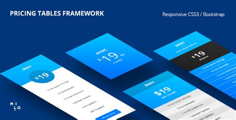 Bootstrap Templates Table Link by 25 Best Html Css Responsive Pricing Table Bootstrap Templates