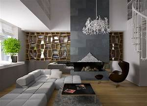 Modern Living Room Interior - Decosee.com