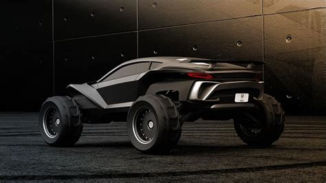 Sidewinder Dune Buggy by Wordlesstech Sidewinder Dune Buggy Concept