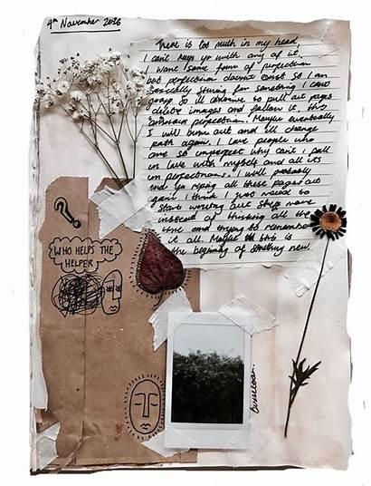 Journal Bullet Paper Junk Books Garden Diary