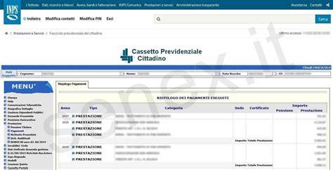 Cassetto Previdenziale Cittadino Inps by Curiosit 224 E Tutorial Su Informatica Pubblica