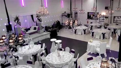 salle de reception mariage l alhambra salle de r 233 ception mariage soir 233 e blanc noir violet