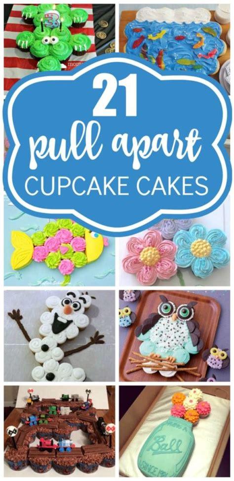 pull  cupcake cake ideas pretty  party