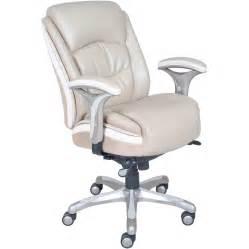serta at home serenity mid back executive chair reviews wayfair