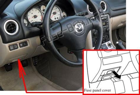 Fuse Mazda Diagram Box Mx 5miat by Fuse Box Diagram Gt Mazda Mx 5 Miata Nb 1999 2005