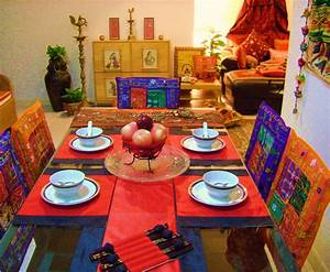 Ethnic, Indian, Decor, An, Ethnic, Indian, Home, In, Singapore