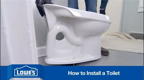How To Replace And Install A Toilet Youtube