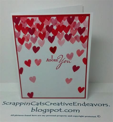 Pinterest Valentine Cards Welcome To Scrappin Cat S Creative Endeavors Pinterest