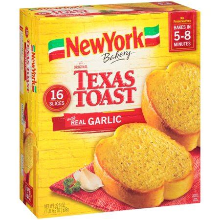 New York Brand Texas Toast With Real Garlic, 16 Count, 22
