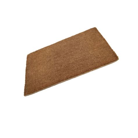 Plain Coir Doormat by Plain Coir Stitched Edge Doormat 980mm X 600mm Quality