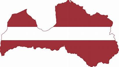Latvia Flag Map Latvian Latvijas Svg Wikimedia