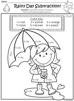 spring math worksheets kindergarten spring activities   study buddy