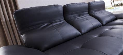 canapé en stock canapé noir en cuir en stock a prix bas