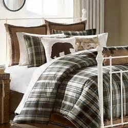 hadley plaid comforter set www bedbathandbeyond com