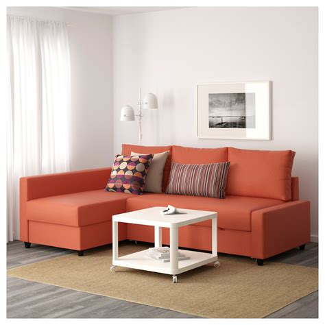 ikea sectional sofa bed with storage friheten corner sofa bed with storage skiftebo dark orange