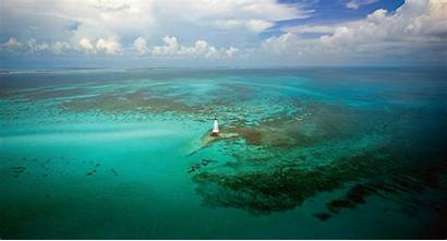 Florida Landscape Nature Coral Clouds Lighthouse Sea