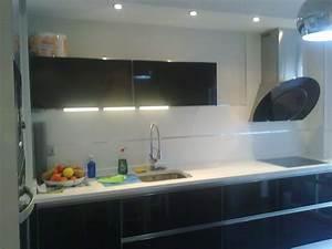 Cocina, Muebles, Blancos, Azulejos, Blancos