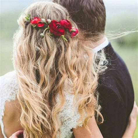 17 carefree beach wedding hairstyle ideas page 16 of 17