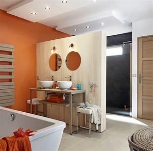 Meuble Mural Salle De Bain : ordinaire carrelage mural salle de bain leroy merlin 1 meuble salle bain bois design ikea ~ Teatrodelosmanantiales.com Idées de Décoration