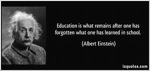 Education Quotes Albert Einstein – Quotesta