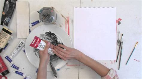 how to make silver paint painting techniques youtube