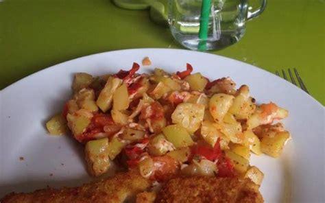 recette de cuisine avec du poisson recette ratatouille courgette tomate avec poisson pané économique et rapide gt cuisine étudiant