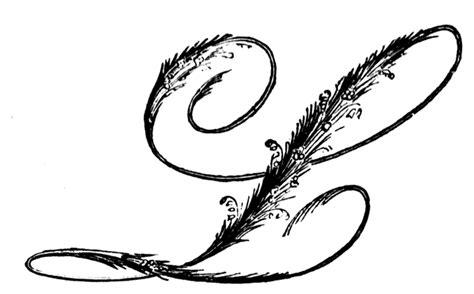 ornamental script clipart