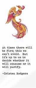 25+ best ideas ... Phoenix Bird Tattoo Quotes