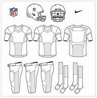 Blank Football Uniform Template
