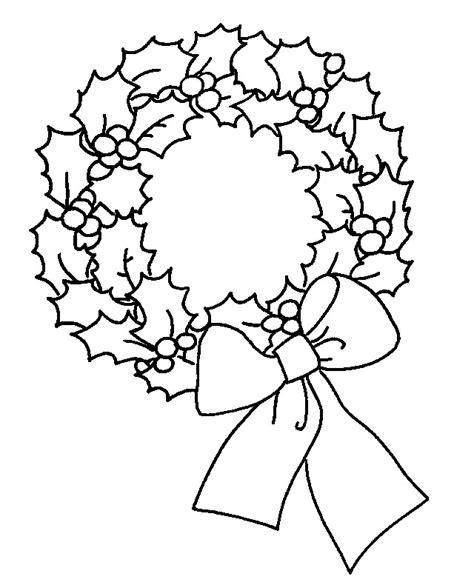 christmas wreath drawing  getdrawings