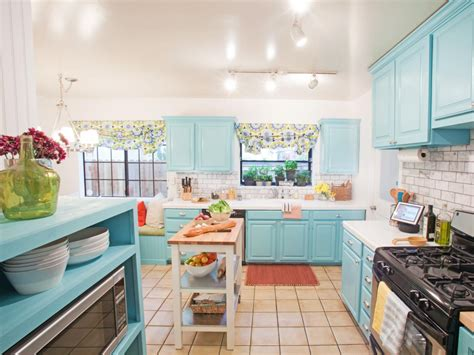 Aqua Colored Home Decor: Blue Kitchen Paint Colors: Pictures, Ideas & Tips From
