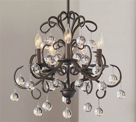bellora chandelier pottery barn