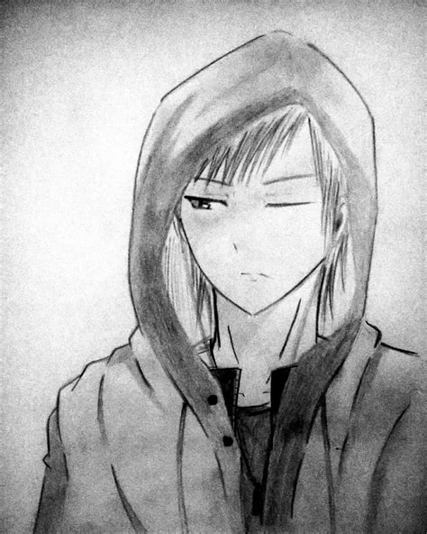 anime boy in hoodie hoodie anime boy by kristianodinandio on deviantart