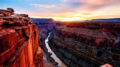 Canyon Grand Wallpapers Backgrounds Background Desktop Sunrise
