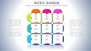 How To Create Professional Business Matrix Diagram