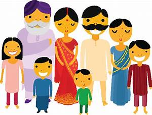 Indians clipart family - Pencil and in color indians ...
