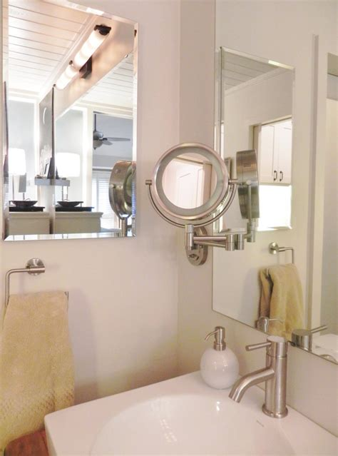 Bathroom Magnifying Vanity Mirrors by Awe Inspiring Magnifying Mirror Decorating Ideas