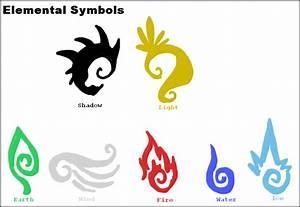 Elemental Symbols by luckyferret06 on DeviantArt