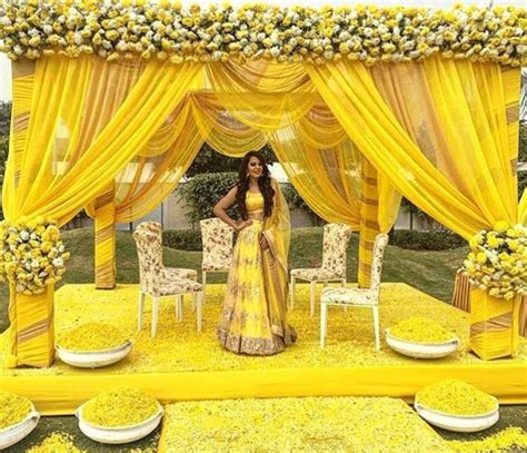 wedding brigade yellow fever haldi function