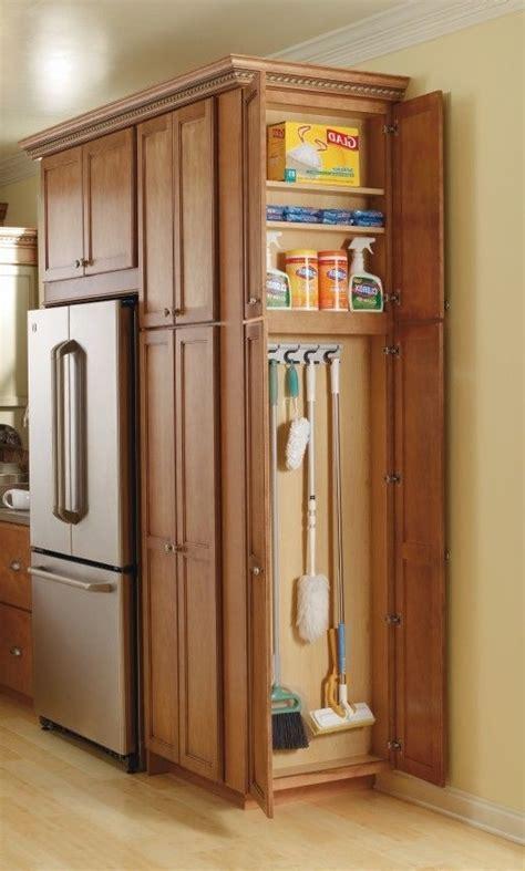 broom closet cabinet kitchen cabinet broom closet
