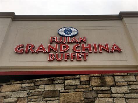 Fujian Grand China Buffet Menu